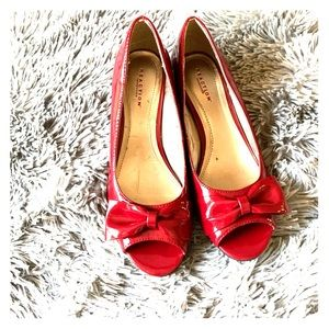 Red Kenneth Cole Reaction Heels